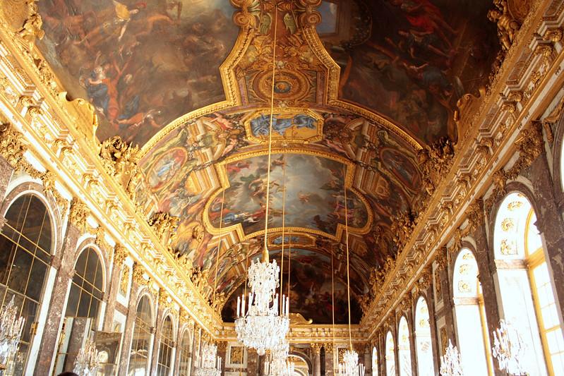 La Grande Galerie at Versailles
