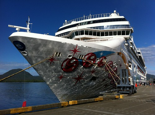 Norwegian Pearl - Dappled in Ketchikan
