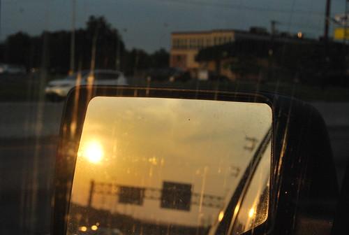 WPIR - rear view sun