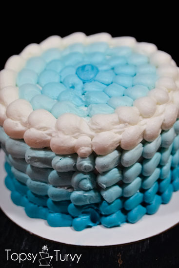 blue-ombre-buttercream-smash-cake-back