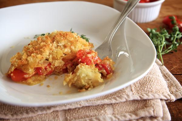 Tomato & Potato Gratin 130