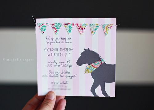 Horse Invite.