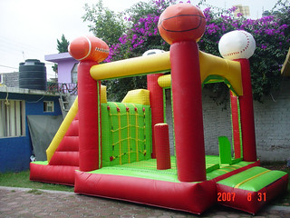 inflable deportivo