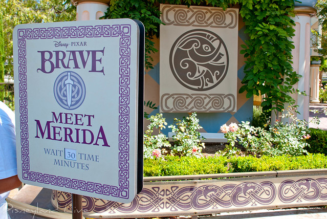 Brave meet and greet at Disneyland