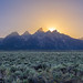 Grand Teton Sunset - Horizontal