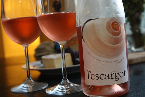 L'Escargot Rose