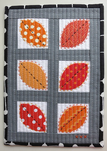 """Summer Leaves"" Mug Rug"