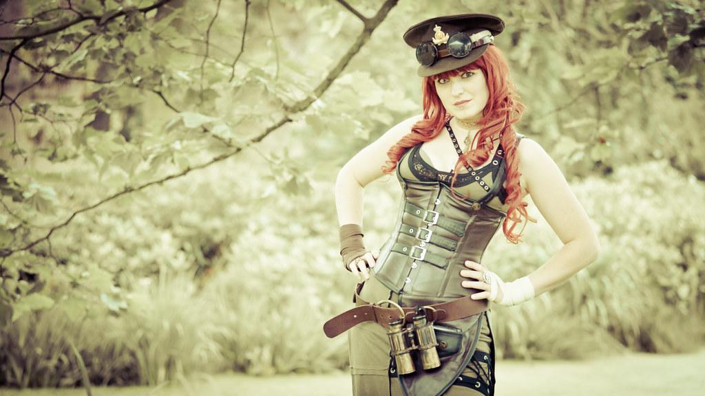 2012-08-04 Castlefest 2012, Steampunk, Titania Queen
