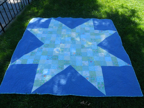 North Star, quilted