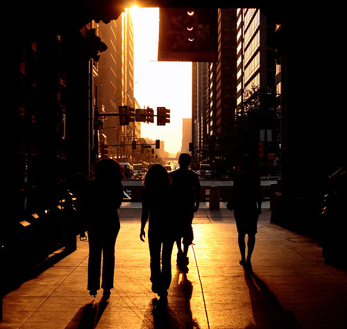city sunset urban usa philadelphia silhouette america downtown glow unitedstates pennsylvania centercity pa goinghome philly marketstreet dilworthplaza cityofbrotherlylove philadelphiacityhall downtownphilly