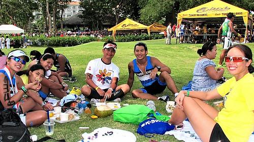 Ironman 70.3 Philippines: picnic!