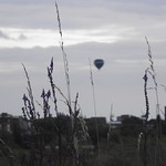 Hot air balloon taken by the Old Johnson Tiles site