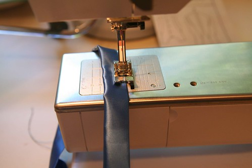 Sewing the Wristband