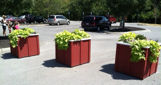 Planters for Deanna Rose