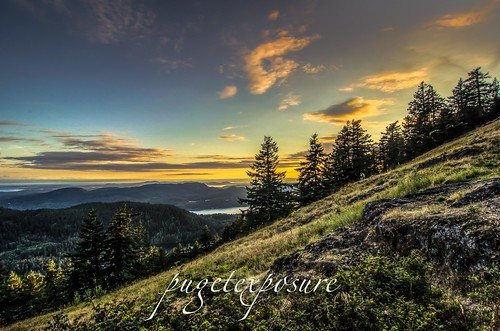 Mount Constitution Sunset Orcas Island