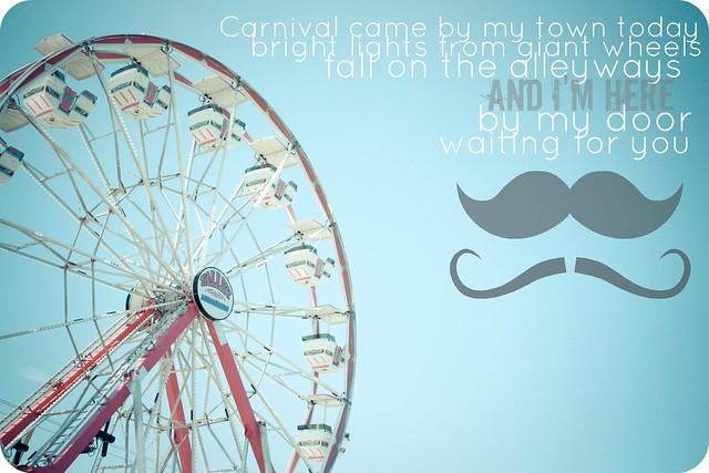 Carnival Mustache