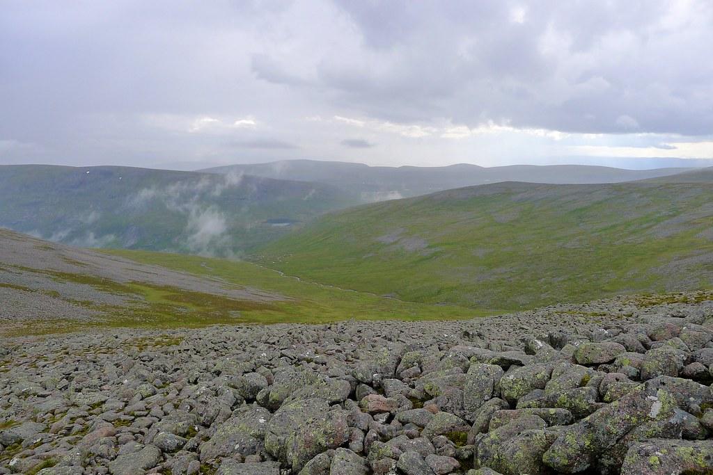 Misty over Loch nan Stuirteag