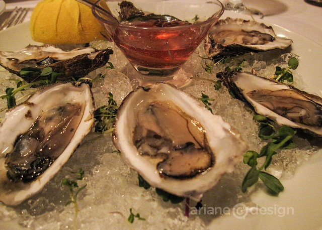 Windjammer Restaurant/Beausoleil oysters on the half shell