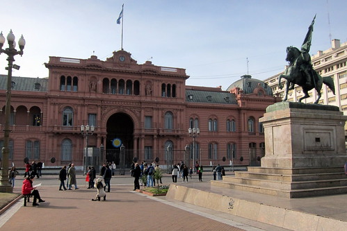 Buenos Aires - Monserrat: Plaza de Mayo
