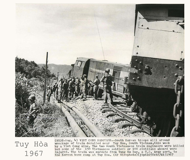 1967 VC SABOTAGE IN TUY HOA