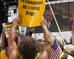 Labor Rally in Philadelphia - 2012