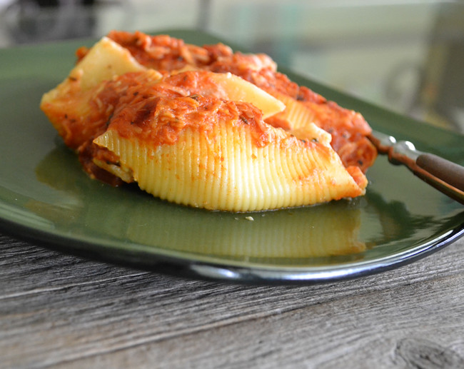 Semi Homemade Stuffed Shells