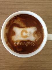 Today's latte, connpass.