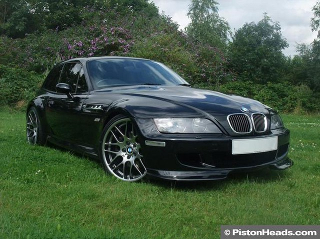 2002 M Coupe | Sapphire Black | Kiwi/Black