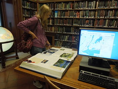 12 08 15 NY Public Library - Map room atlas