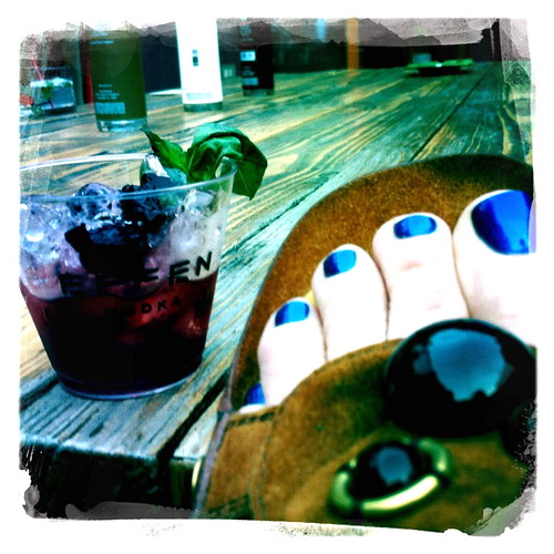 Blue Toes Blue Vodka