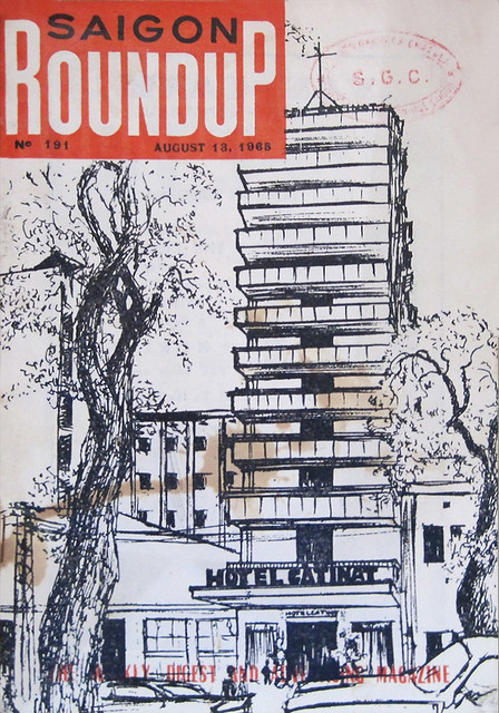 SAIGON ROUNDUP - The Weekly Digest and Advertising Magazine - August 13, 1965