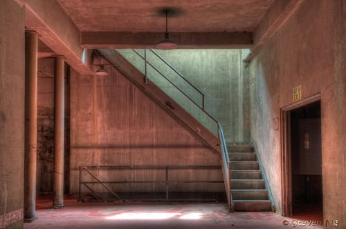 Staircase at Seaholm Power Plant