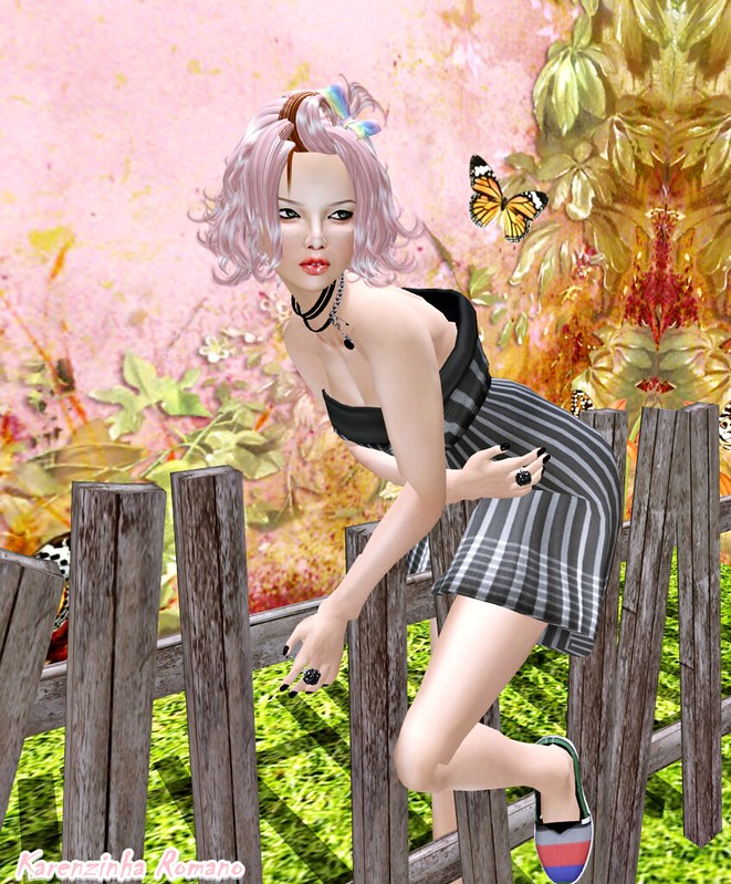 dress B@R  BR Stripes Dress3