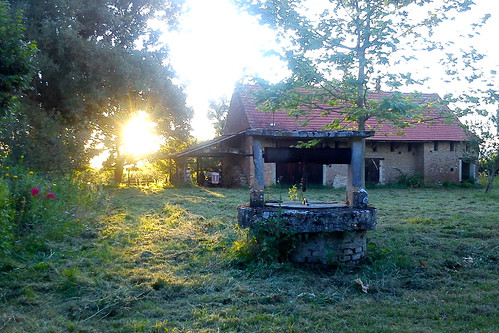 France 2012 – Sun going down in Burgundy