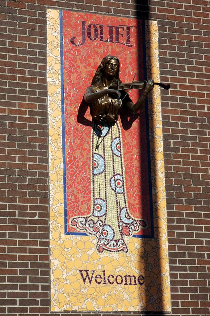 Mosaic Sculpture, Joliet, IL