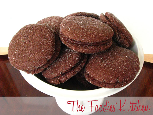 Spicy Chocolate Sandwich Cookies