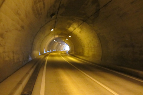 Tunnel, one of many.