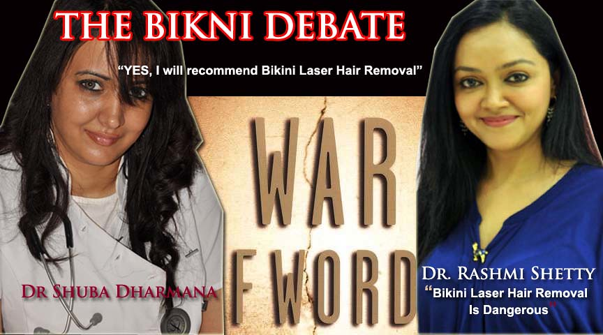 While Successful Indian Woman are divided over the issue of going in for Bikini Waxing, There are difference of opinions that divide the thoughts whether to go for Bikini Laser Hair Removal or not arg