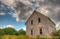 Abandoned house in Yarmouth County