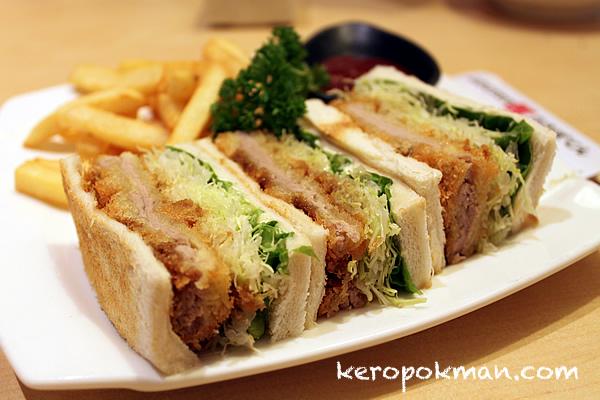 Toast Tenderloin Katsu Sandwich Set