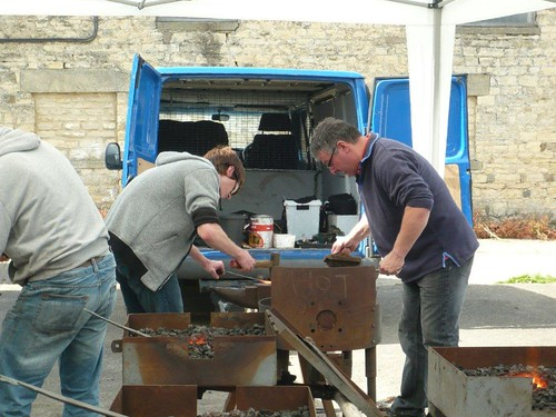 Blacksmith for a Day - 1st july 2012