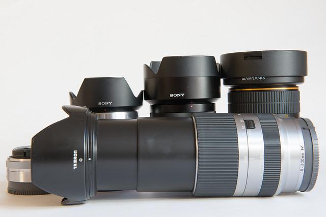 7839955874 cf9cbe65af z Tamron 18 200 para Sony NEX