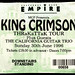 king crimson shepherds bush empire 1996 by Reconstructing Light