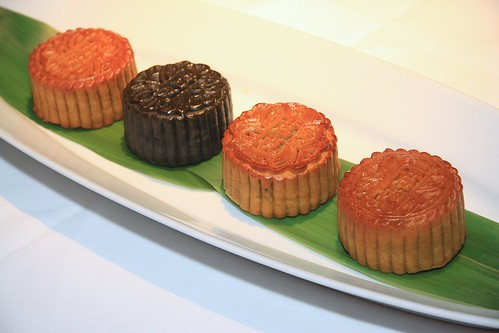Baked Mooncakes Grand Hyatt Singapore