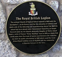 Photo of Black plaque number 11279