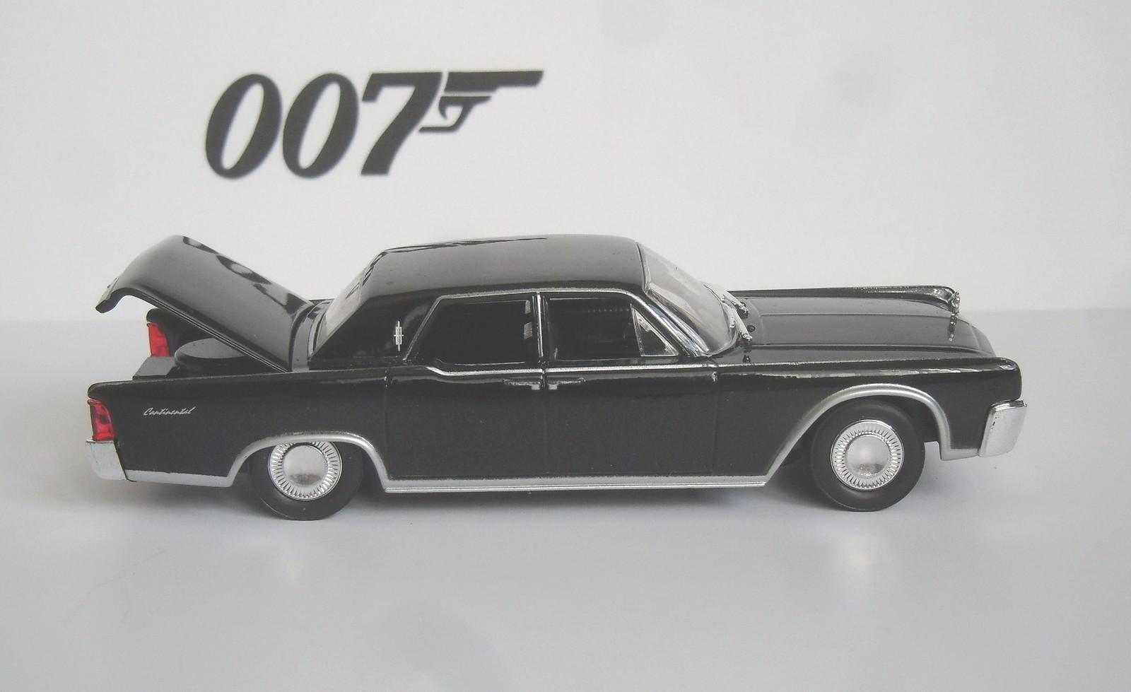 1964 lincoln continental james bond les voitures de james. Black Bedroom Furniture Sets. Home Design Ideas