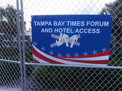 """Tampa Bay Times Forum And Hotel Access"""