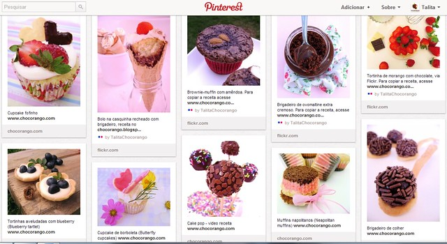 Chocorango no Pinterest