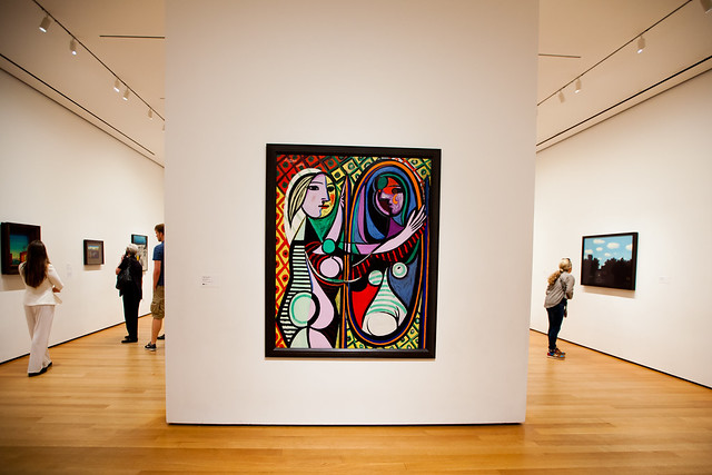 """girl before a mirror by picasso, pablo essay Below is an essay on pablo picasso's girl in a chemise from anti essays, your source for research papers, essays, and term paper examples the painting of pablo picasso's """"girl in the chemise"""" was painted in 1905."""