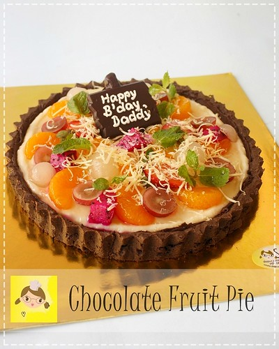 Chocolate Fruit Pie